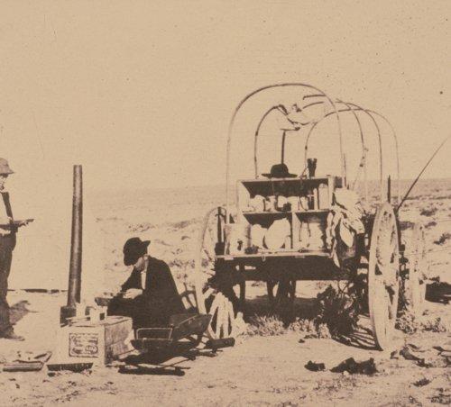 1904 University of Kansas Paleontology Expedition Camp - Page