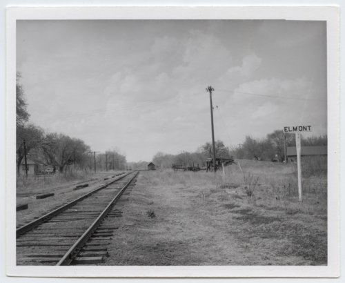 Chicago, Rock Island & Pacific Railroad sign boards, Elmont, Kansas - Page