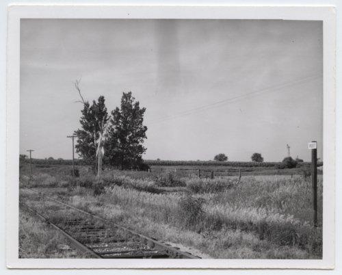 Atchison, Topeka & Santa Fe Railway Company's sign board, Root, Kansas - Page