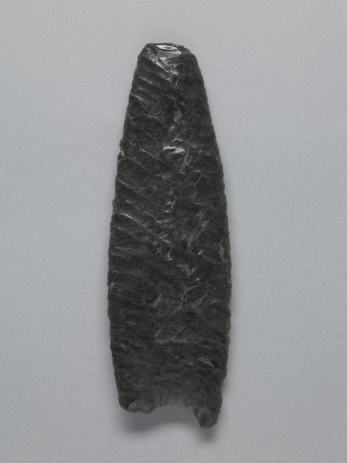 Obsidian Paleoindian Projectile Point - Page