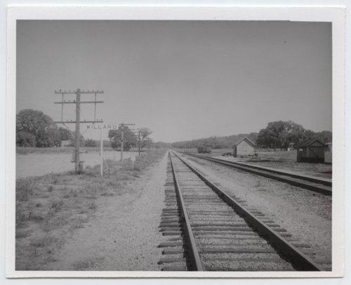 Chicago, Rock Island & Pacific Railroad sign board, Willard, Kansas - Page