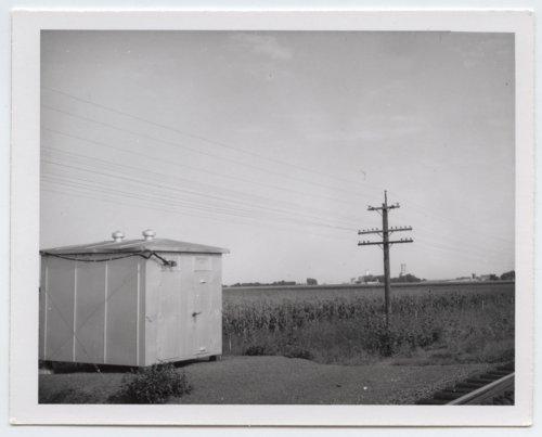 Union Pacific Railroad Company's box depot, Menoken, Kansas - Page