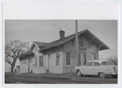 Atchison, Topeka and Santa Fe Railway Company depot, Goddard, Kansas - Page