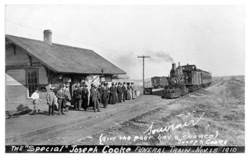 Missouri Pacific Railroad depot, Uniontown, Kansas - Page