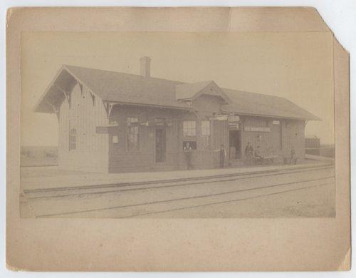 Atchison, Topeka & Santa Fe Railway Company depot, Spearville, Kansas - Page