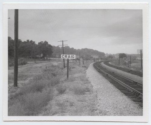 Atchison, Topeka and Santa Fe Railway Company sign board, Craig, Kansas - Page