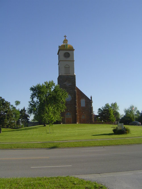 St. Francis Church, St. Paul, Kansas - Page