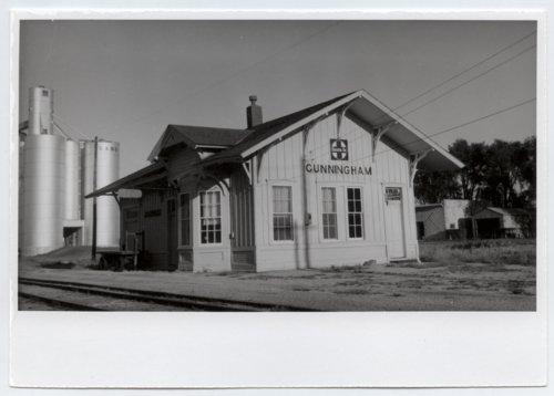 Atchison, Topeka and Santa Fe Railway Company depot, Cunningham, Kansas - Page