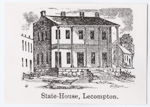 Constitution Hall, Lecompton, Kansas - Page