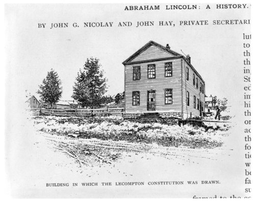 Constitution Hall, Lecompton, Kansas - Page