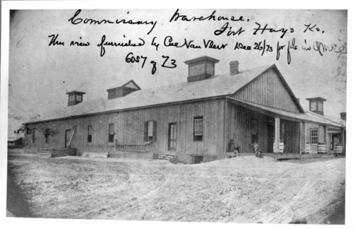 Commissary and pest house, Fort Hays, Kansas - Page
