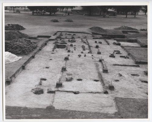 Archeological dig, Fort Hays, Kansas - Page