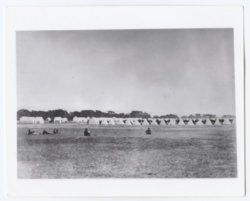 7th Cavalry Camp, Fort Hays, Kansas - Page