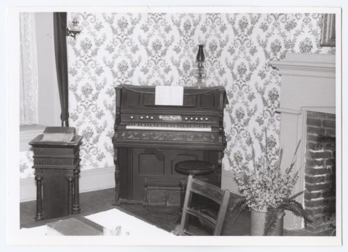 Dining Room and Parlor Chapel, Grinter Place, Wyandotte County, Kansas. - Page