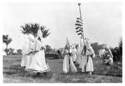 Ku Klux Klan ceremony - Page
