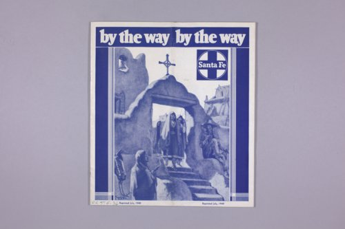 """Santa Fe By the Way"" pamphlet reprint - Page"