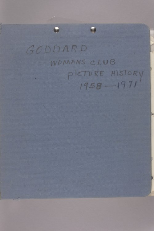 Goddard Woman's Club picture history - Page