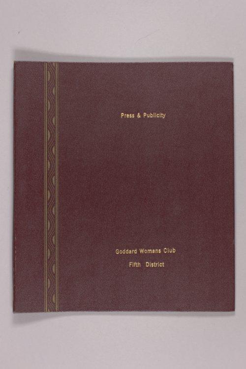 Goddard Woman's Club pressbook - Page