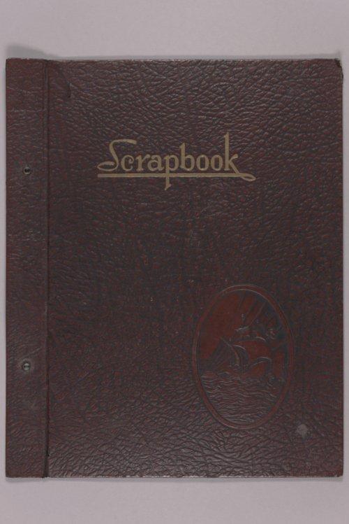 Goddard Woman's Club scrapbook - Page