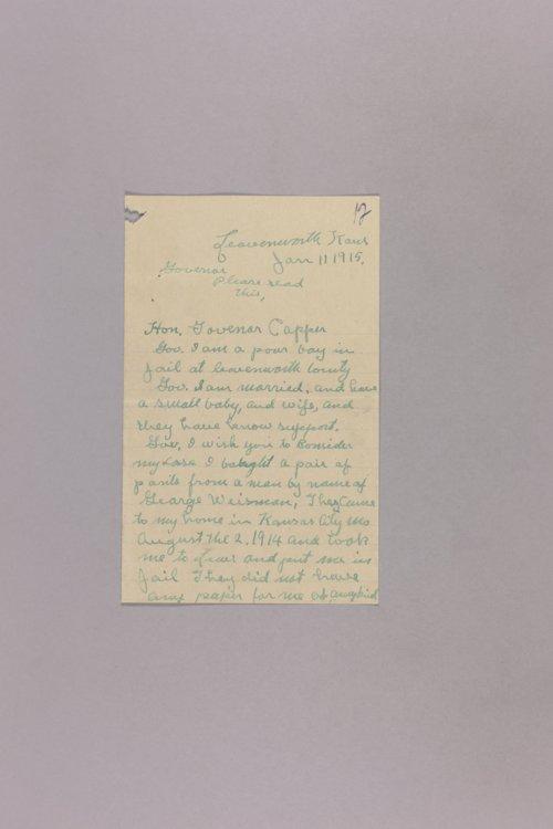 Appeal for Pardon - Harry E. Monk - Page