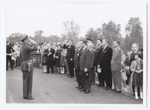 Battle of Mine Creek centennial ceremony, Linn County, Kansas - Page