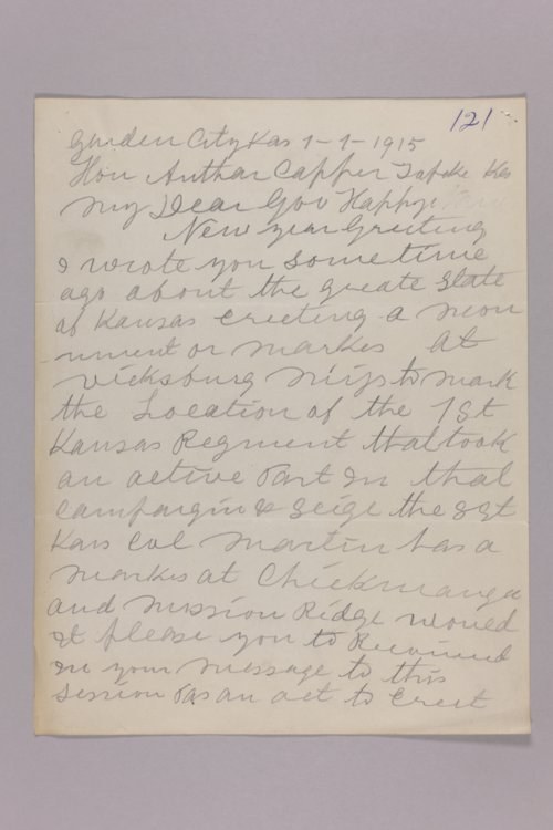 1st Infantry Division - Memorial in Vicksburg Park - Page