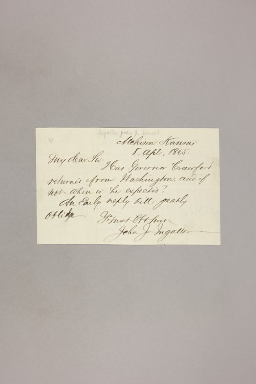 Correspondence, General - Page