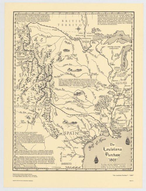 "Louisiana Purchase ""1803"" - Page"