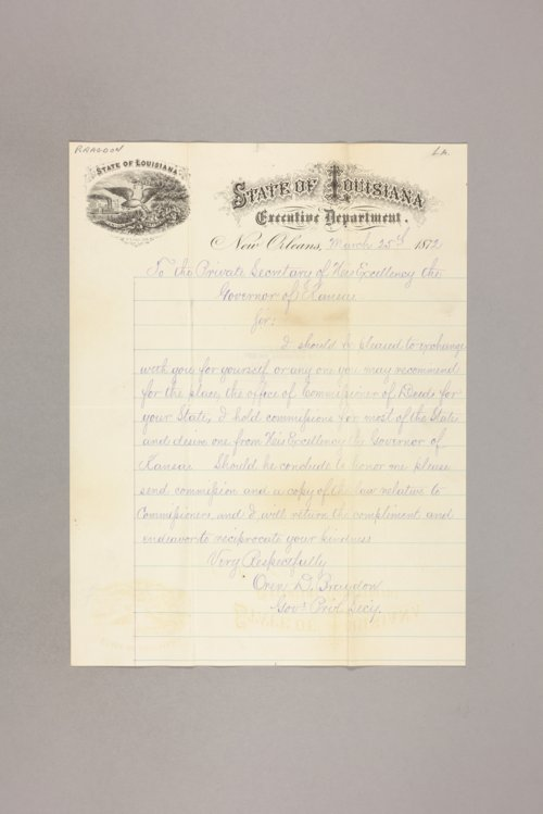 Commissioner of deeds : Louisiana - Page