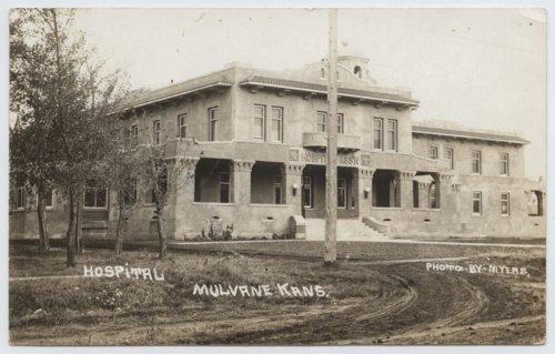 Atchison, Topeka and Santa Fe Railway Company hospital, Mulvane, Kansas - Page