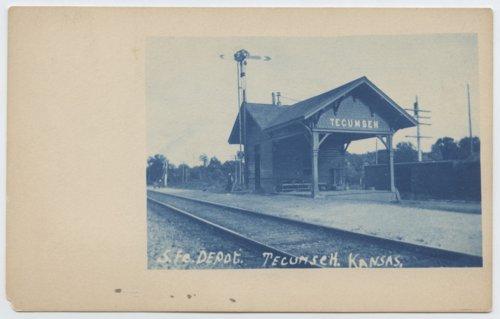 Atchison, Topeka, and Santa Fe depot Tecumseh, Kansas - Page