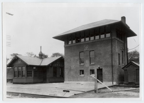 Atchison, Topeka and Santa Fe Railway Company depot and tower, Turner, Kansas - Page