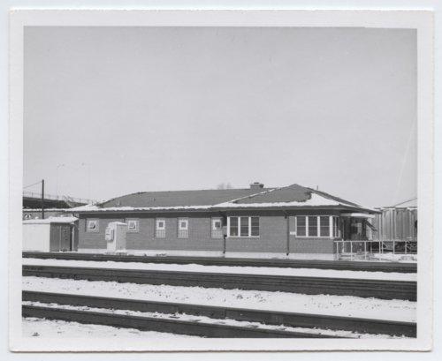 Atchison, Topeka and Santa Fe Railway Company depot and tracks, Turner, Kansas - Page