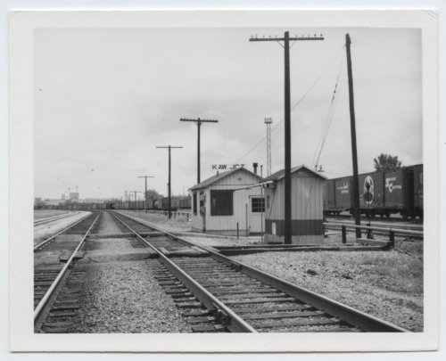 Union Pacific Railroad Company and Kansas City, Kaw Valley Junction box depot, Kansas City, Kansas - Page