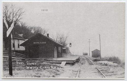 Chicago, Burlington and Quincy Railroad, White Cloud, Kansas - Page