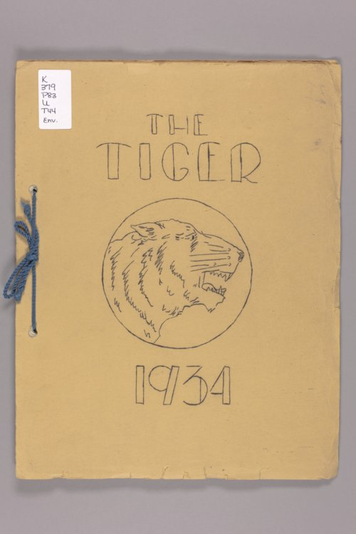 The Tiger!: published by the sophomore class of Portis High School, Portis, Kansas, 1934 - Page