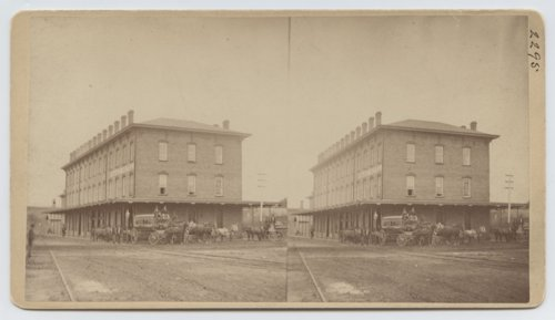 Kansas Pacific Railway depot and hotel, Topeka, Kansas - Page