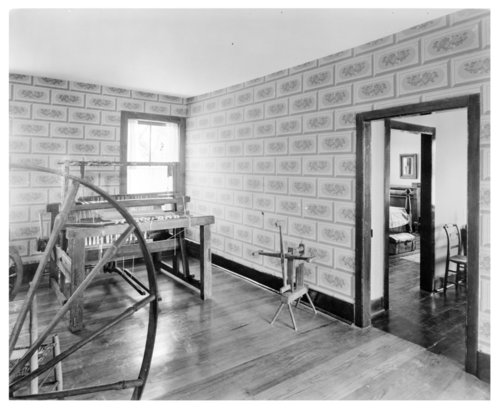 Guest bedroom, Shawnee Indian Mission - Page