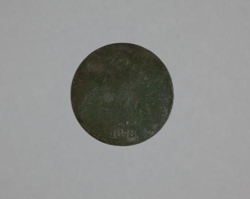 1878 Penny from the Mine Creek Civil War Battlefield, 14LN337 - Page