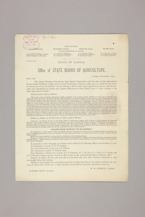 Agricultural, State Board of - Page