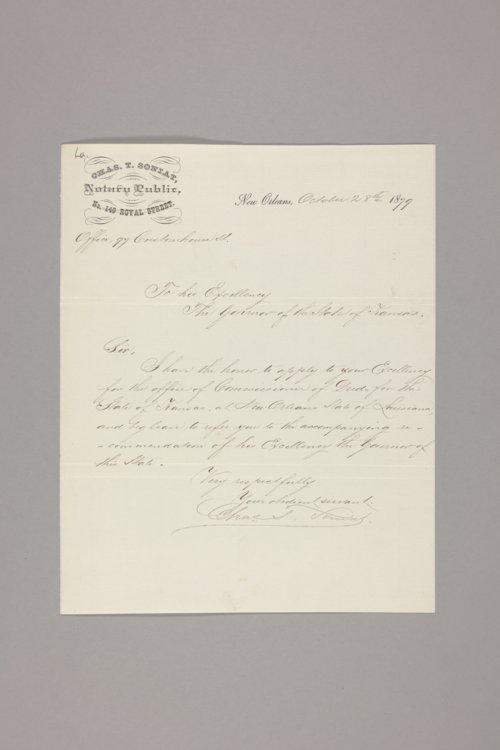 Commissioners of Deeds : Louisiana - Page