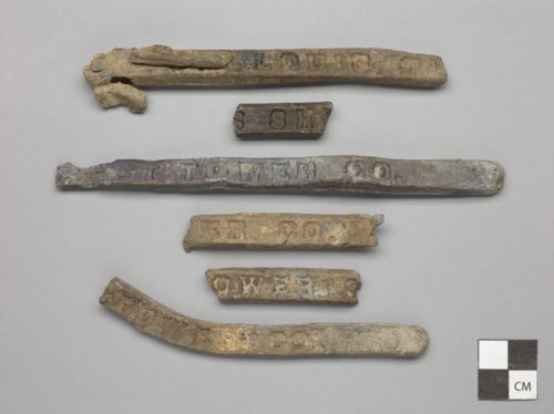 Lead Bars from Fort Zarah, 14BT301 - Page