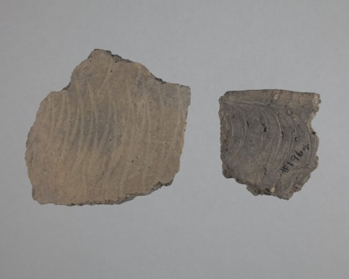 Kansas City Hopewell Sherds with Rocker Stamping from the Trowbridge Site, 14WY1 - Page