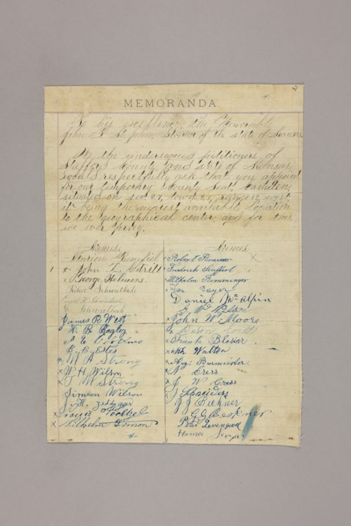 Counties : Stafford, petition - Page