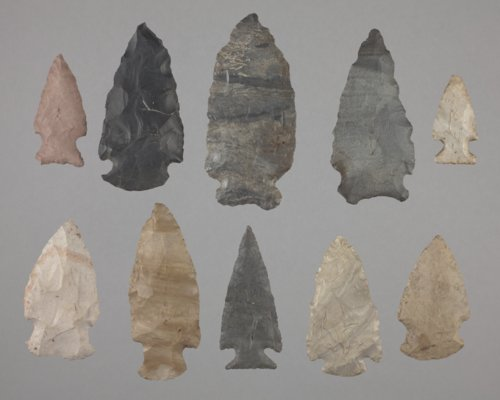 Notched Dart Points from the Trowbridge Site, 14WY1 - Page