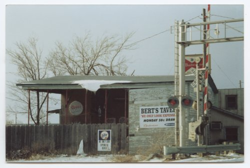 Bert's Tavern, Yates Center, Woodson County, Kansas - Page