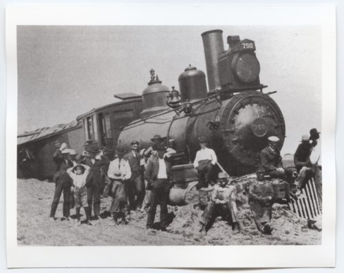 Train wreck, Ransom, Kansas - Page