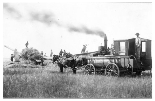 Threshing, Ransom, Kansas - Page