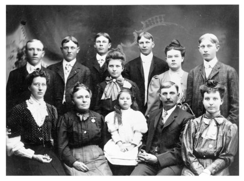 C.Z. Miller family photograph - Page