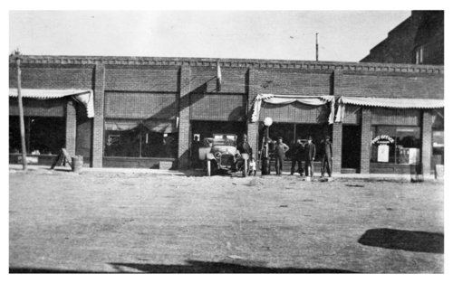 Big Brick Garage, John Willour Buick Car Agency, Ransom, Kansas - Page
